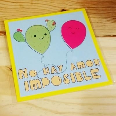 Tarjeta Amor Imposible