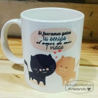 Taza gatitos