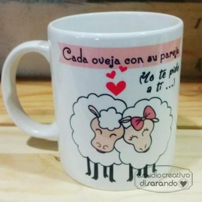 Taza ovejas