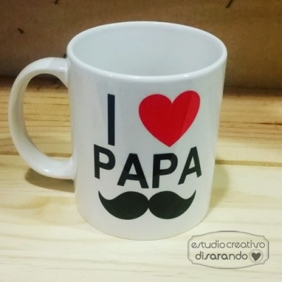 Taza padre love
