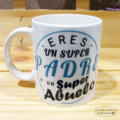 Taza Abuelo y Padre