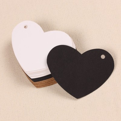 Etiqueta corazón (4 ud)