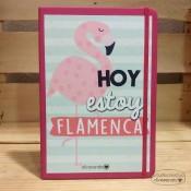 Libreta Hoy estoy flamenca