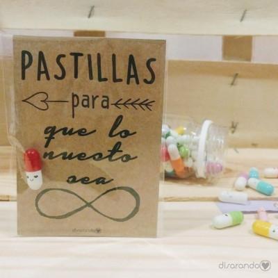 """Pastillas para """"que lo nuestro sea infinito"""""""