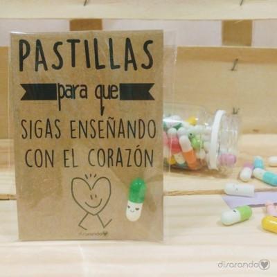 """Pastillas para """"que sigas enseñando con el corazón"""""""