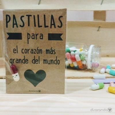 """Pastillas para """"El corazón más grande del mundo"""""""