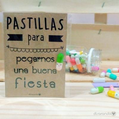 """Pastillas para """"pegarnos una buena fiesta"""""""