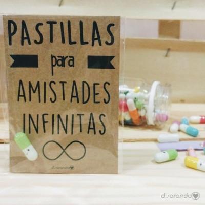 """Pastillas para """"amistades infinitas"""""""