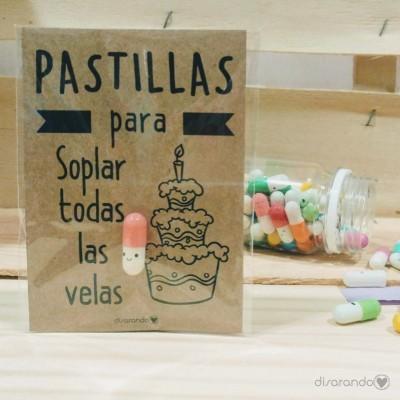 """Pastillas para """"soplar todas las velas"""""""