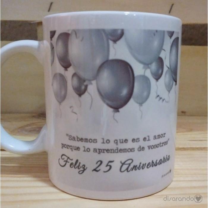 Taza Feliz 25 Aniversario