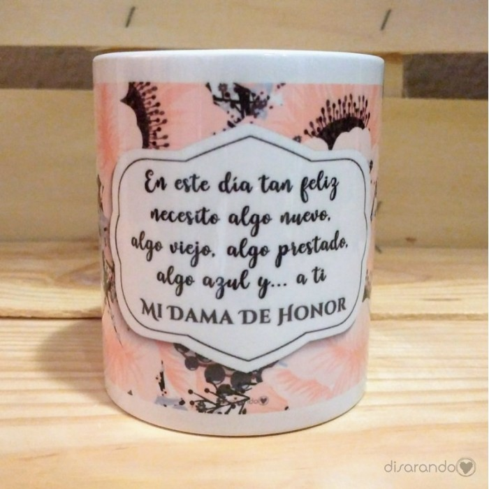 Taza Dama de Honor