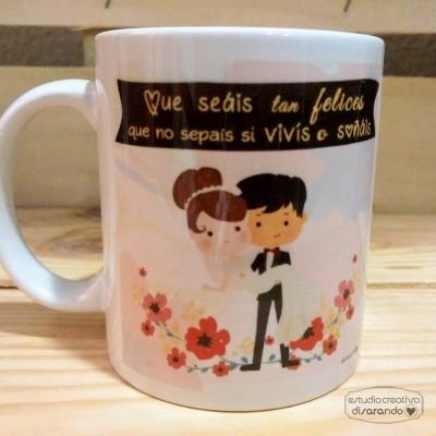 Taza Recien casados