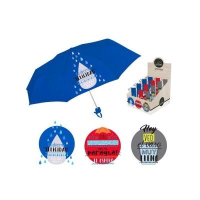 Paraguas con mensajes