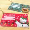 Etiquetas Navidad (4ud)