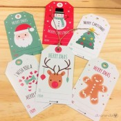 Etiquetas Navidad (6ud)