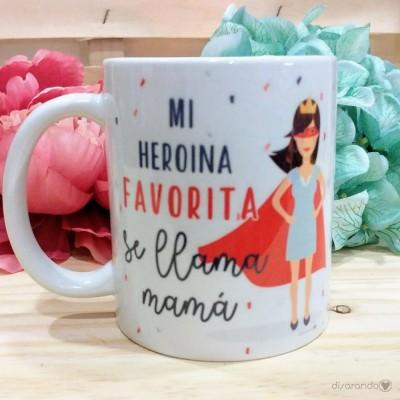 Taza heroina mamá