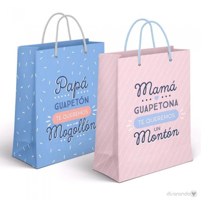eae7bc70e Bolsas de regalo con mensajes, bolsas para regalos originales