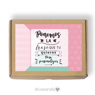 Caja personalizable 48 Colorines (Rectangular o Picnic)
