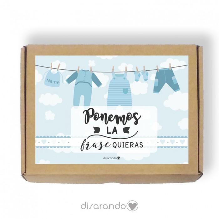 Caja personalizable Baby Niño (3 tamaños)