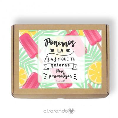 Caja personalizable 28 Helados (Rectangular o Picnic)