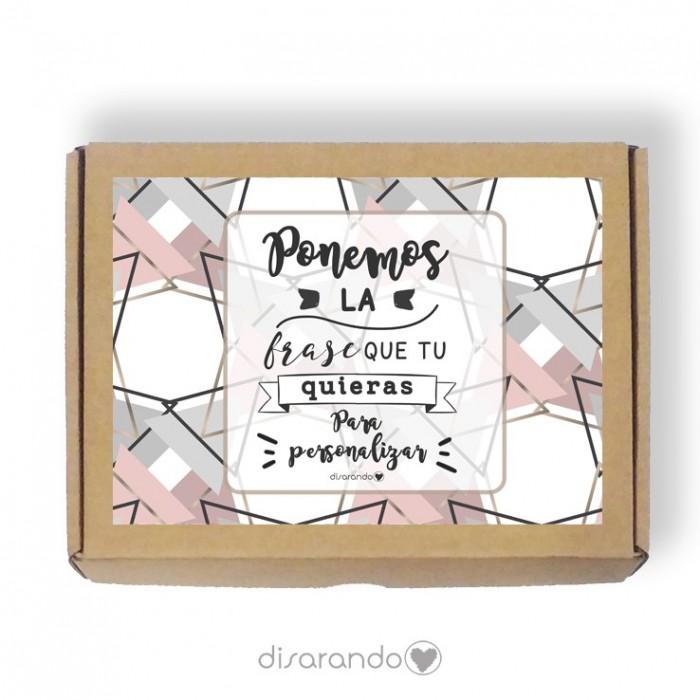 Caja personalizable Marmol (3 tamaños)