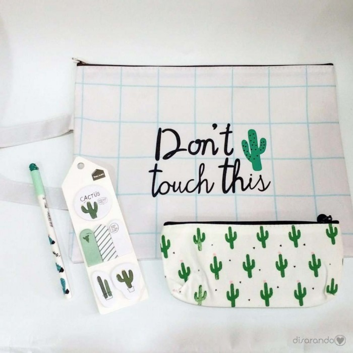 Kit Cactus Don´t touch