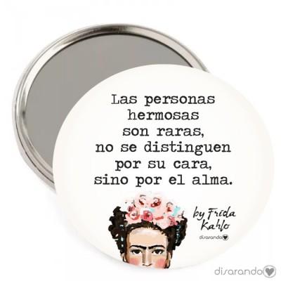 """Espejo Frida Kahlo """"Las personas hermosas son raras... """""""