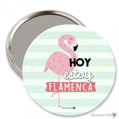 """Espejo """"Hoy estoy flamenca"""""""