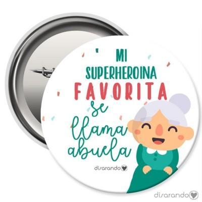 Imán Superheroína Abuela