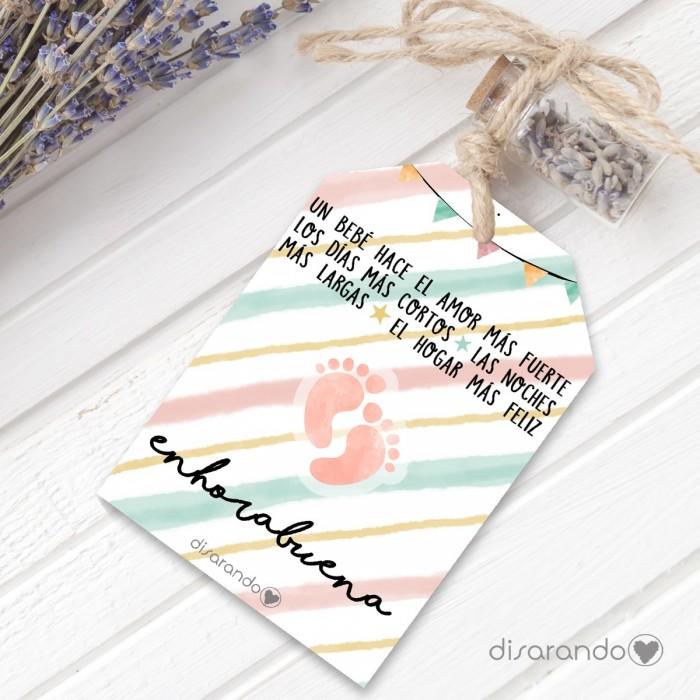 Etiqueta regalo Recién Nacidos