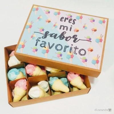 """Caja Chucherías """"Eres mi sabor favorito"""""""