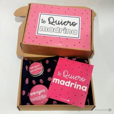 """Kit Lunares """"Te Quiero Madrina"""""""