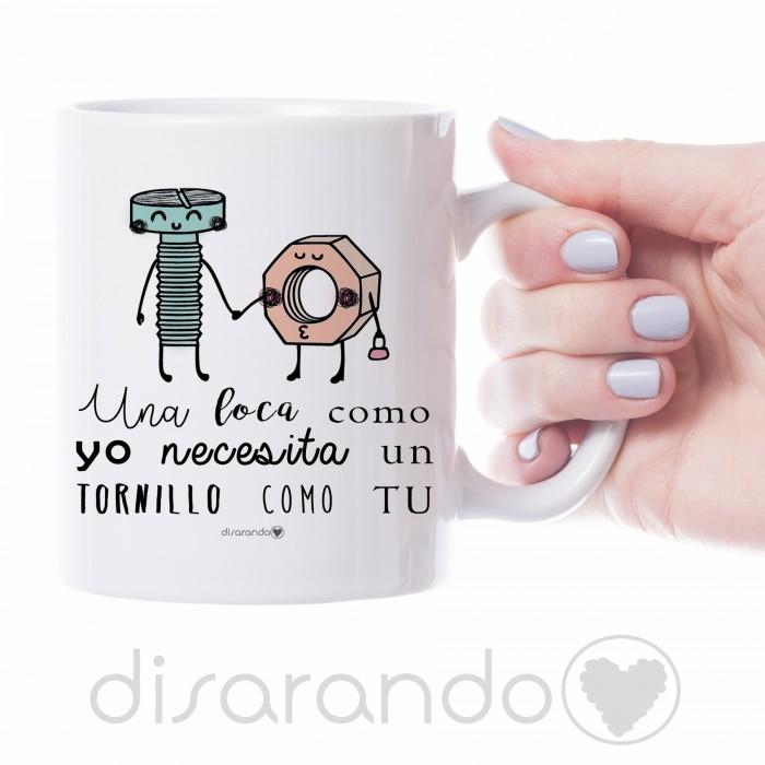 Taza Tornillo y Tuerca