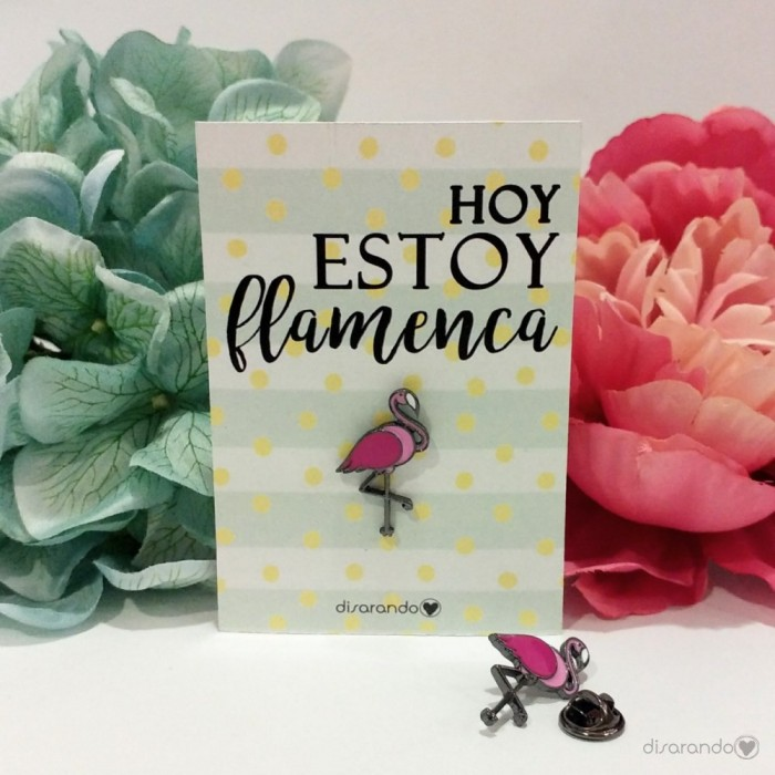 Pin Original Flamenco