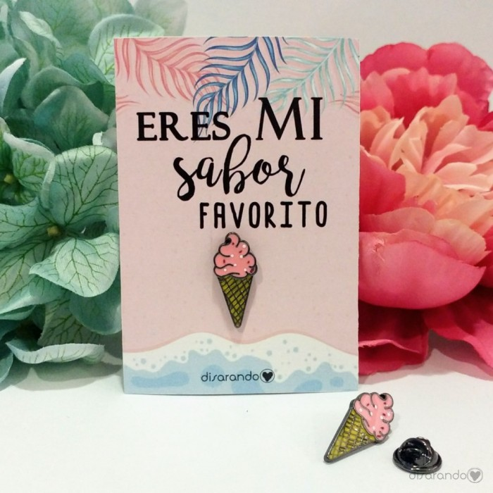 Pin Original Helado