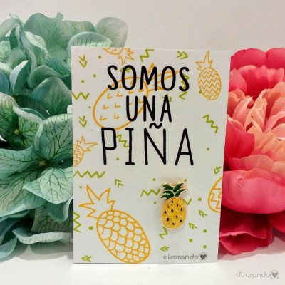Pin original Piña