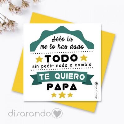Tarjeta Padre Todo