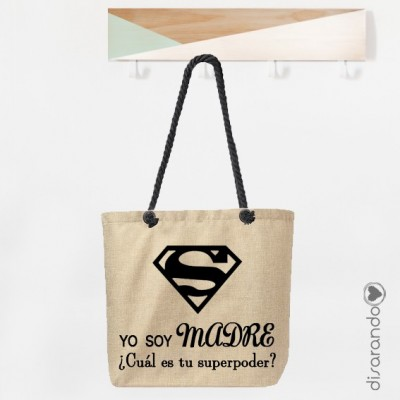 Bolsa Totem Super Mamá