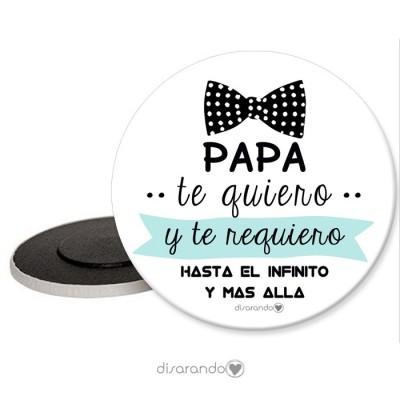 "Imán ""Padre pajarita"""