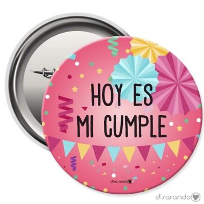 Chapa cumpleaños