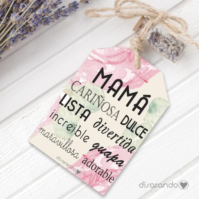 Etiqueta regalo Mamá