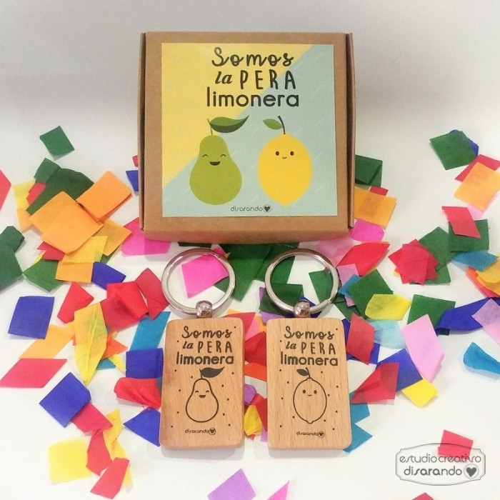 Pack Llaveros Somos la pera limonera