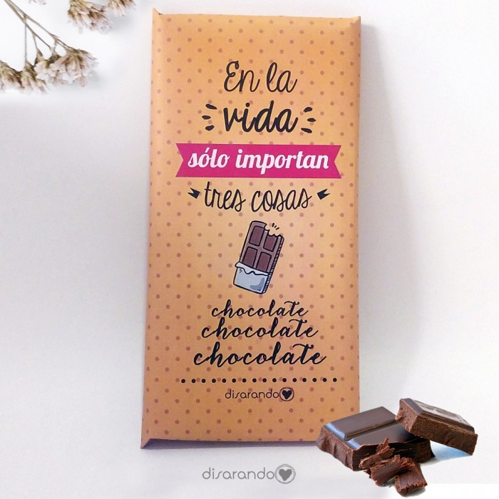 Tabletas Happy Chocolate & Chocolate