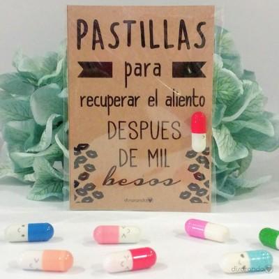 """Pastillas para """"recuperar el aliento despues de mil besos"""""""