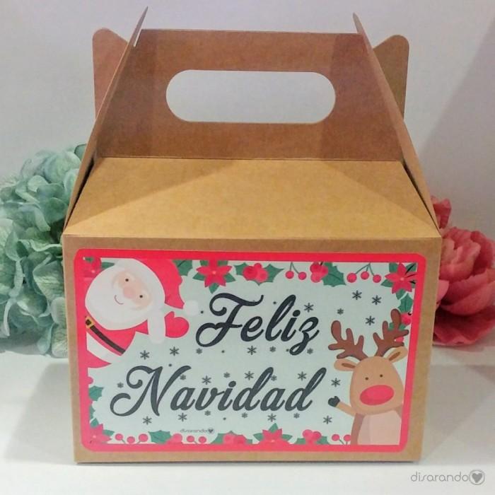 Caja navidad craft