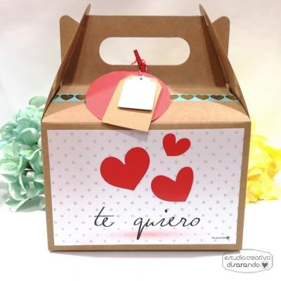"""Caja Picnic """"Te Quiero"""""""
