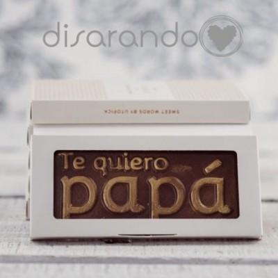 "Tabletas con Mensaje ""Te quiero papá"""