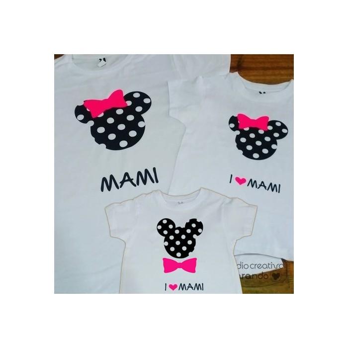 """Camiseta """"Minnie"""" (varios colores)"""