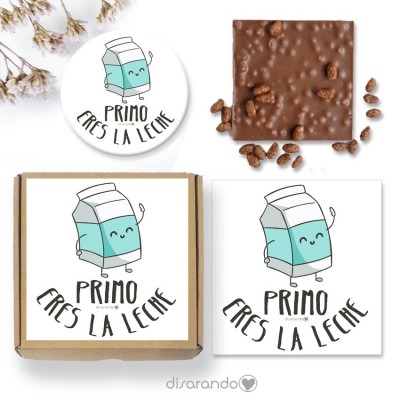 "Mini Kit ""Primo eres la leche"""