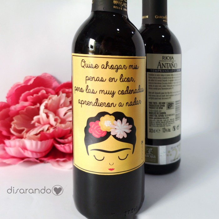 Botella Rioja Frida